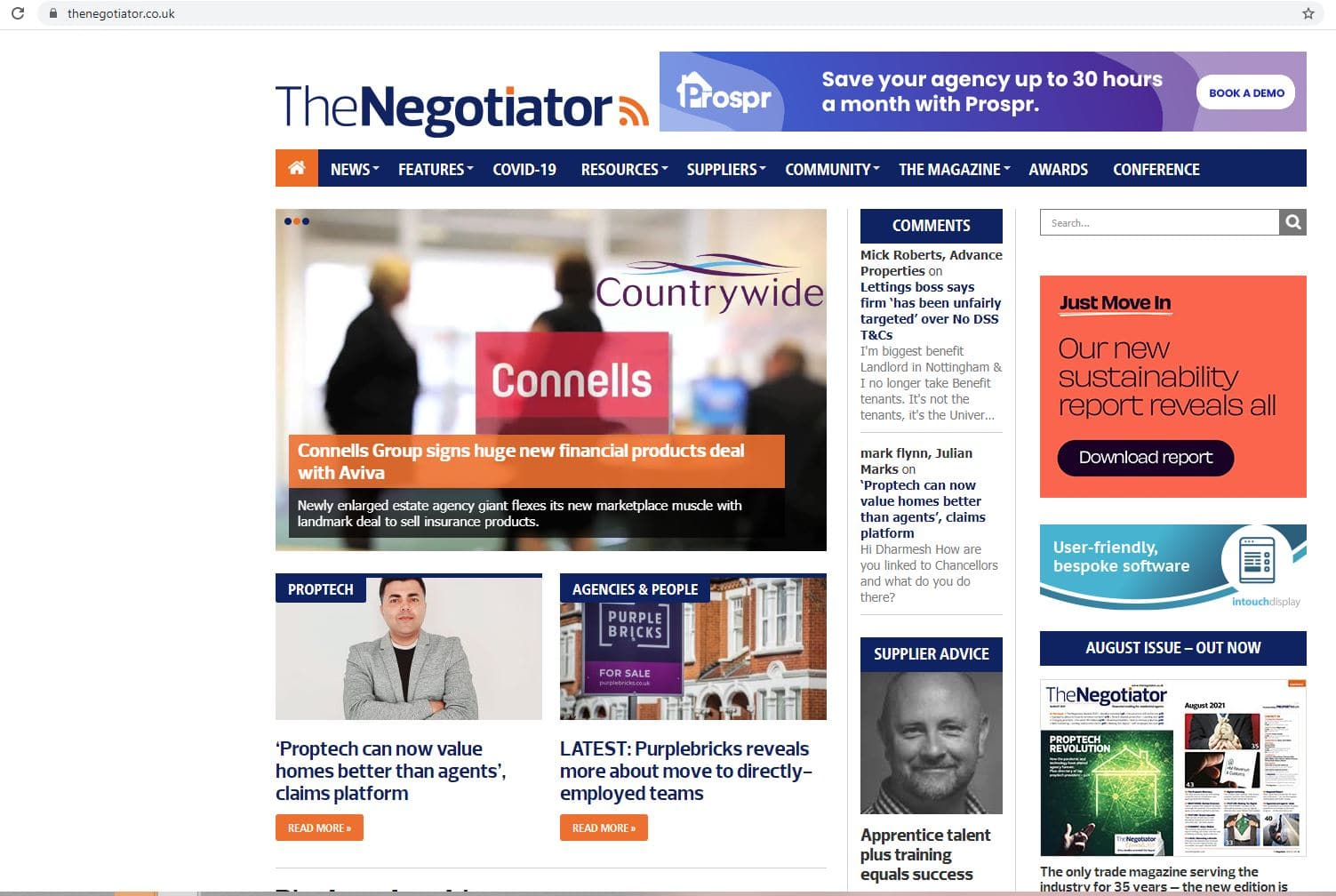 Property Deals Insight in The Negotiator