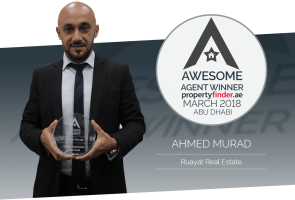 Meet our Abu Dhabi Awesome Agent for March Ahmed Murad from Ruayat Real Estate
