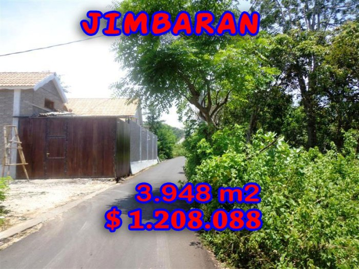 Magnificent Property for sale in Bali, land for sale in Jimbaran Bali – TJJI026