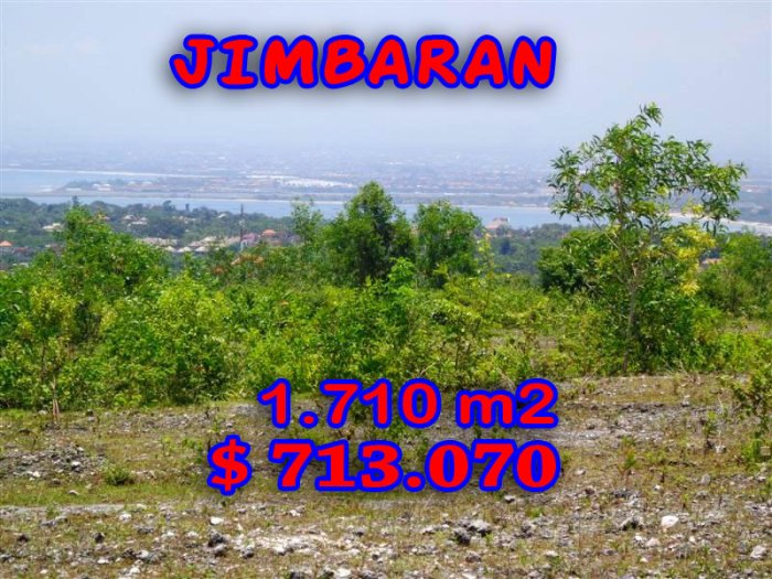 Property in Bali for sale, Exceptional view in Jimbaran Ungasan – TJJI027