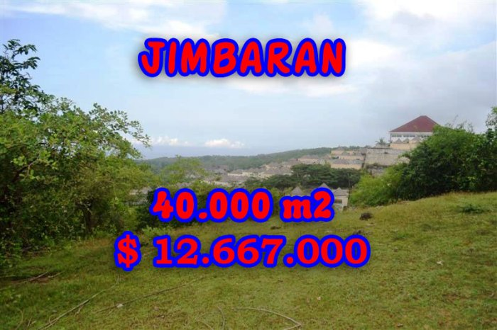 Magnificent Property for sale in Bali Indonesia, land for sale in Jimbaran Bali – TJJI030