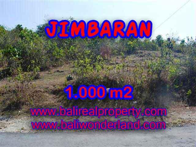 Affordable PROPERTY JIMBARAN BALI 1,000 m2 LAND FOR SALE TJJI074