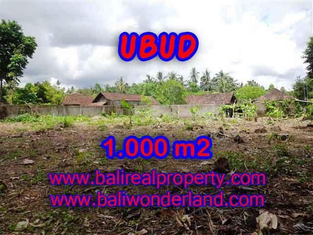 Land in Bali for sale, Stunning view in Ubud Bali – TJUB373