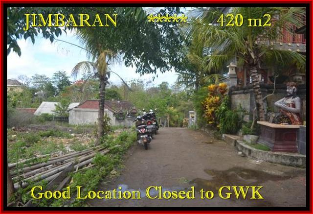 Magnificent PROPERTY JIMBARAN BALI 420 m2 LAND FOR SALE TJJI083
