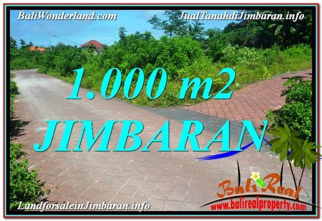 FOR SALE Beautiful 1,000 m2 LAND IN Jimbaran Uluwatu  BALI TJJI111