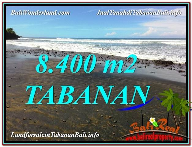 FOR SALE Magnificent PROPERTY 8,400 m2 LAND IN Tabanan Selemadeg BALI TJTB326
