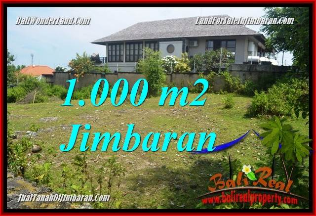Affordable PROPERTY 1,000 m2 LAND SALE IN JIMBARAN BALI TJJI123