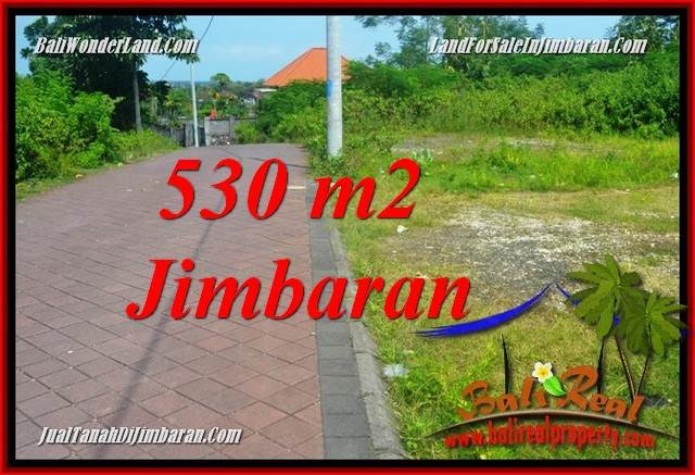 Affordable PROPERTY 530 m2 LAND SALE IN JIMBARAN ULUWATU TJJI127