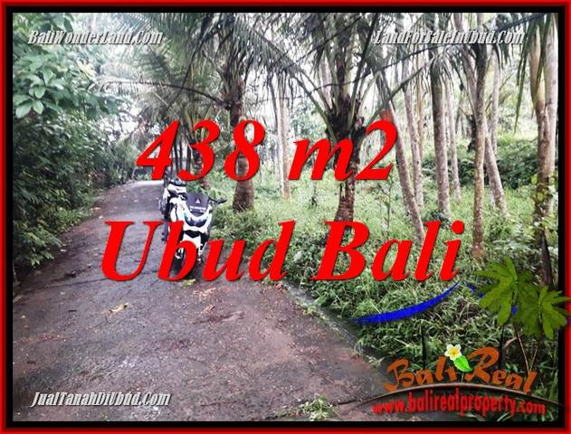 Beautiful 438 m2 Land sale in Ubud Bali TJUB689