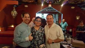 Northstar Investment Properties Founder, Richard Saling and Adriana Saling with Bob Snyder CEO of Renatus