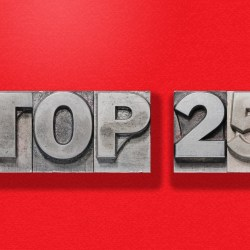 Top 25 In Metallic Letters Over Red Background for 25 Largest Senior Housing Companies Blog