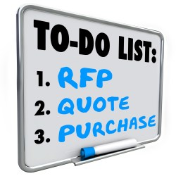 RFP On White Board For Property Manager Insider Blog Advantages Of Winter Proposals For Future Projects