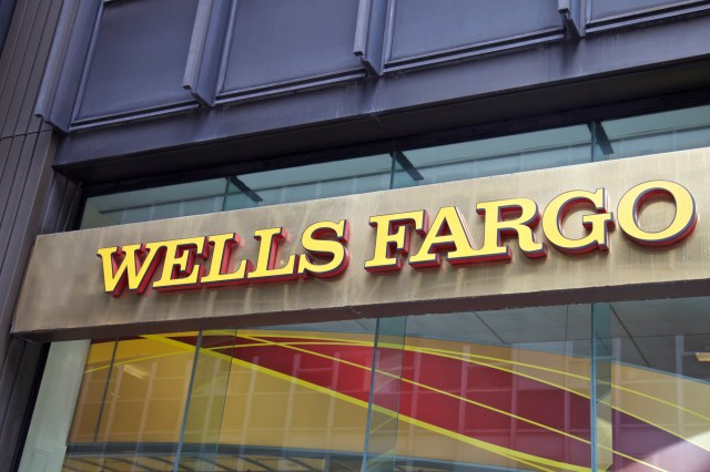 Wells Fargo Channel Letters Sign On Front Of Bank Branch Are One Type Of Commercial Signs