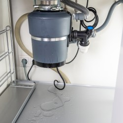 Leaking Garbage Disposal Under Apartment Kitchen Sink Common Sources Of Apartment Leaks