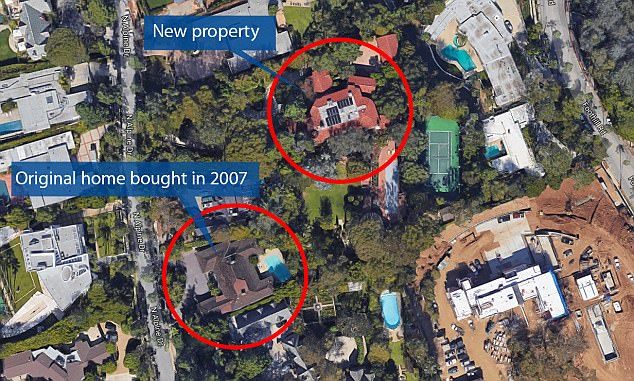 Amazon Ceo Jeff Bezos Has Expanded His Beverly Hills Home By Half An