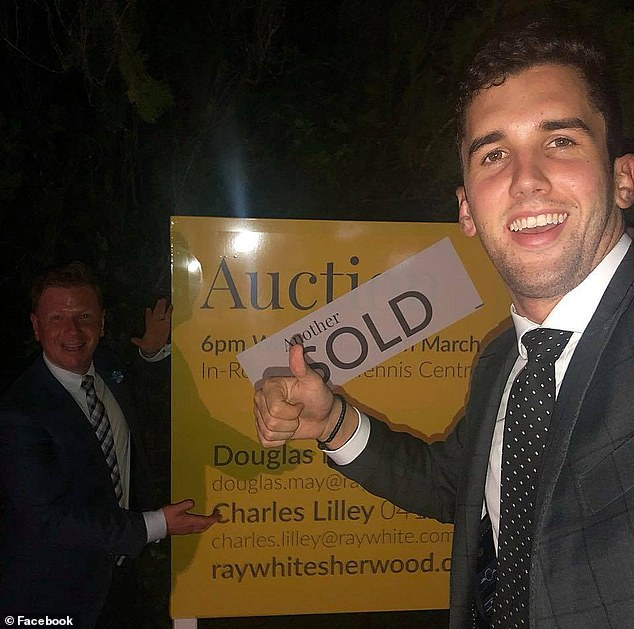 AUSTRALIA: Real estate agent, 23, may never walk again after diving head-first into a shallow pool and shattering his spine