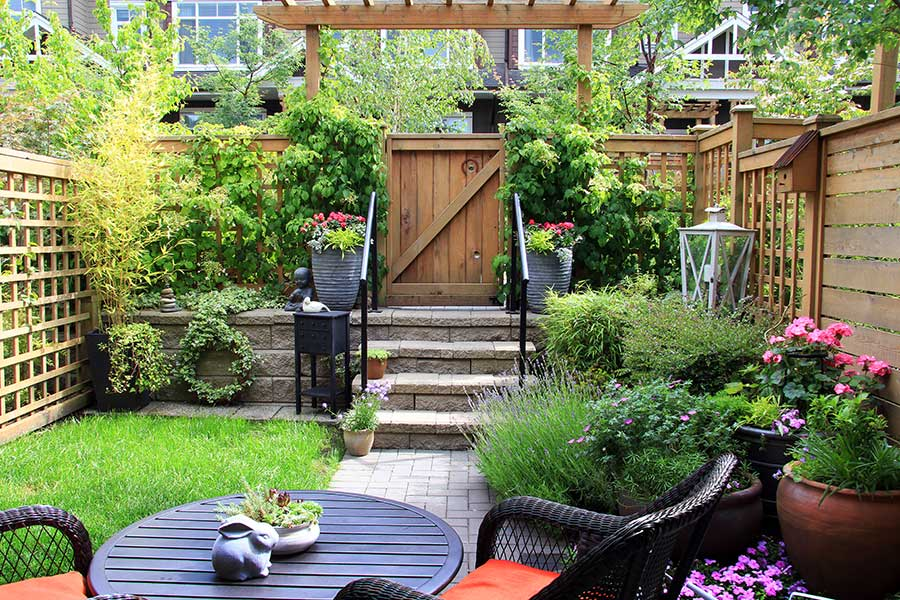 Six tips to spruce up a small garden in time for summer ... on Small Backyard Landscaping  id=42932