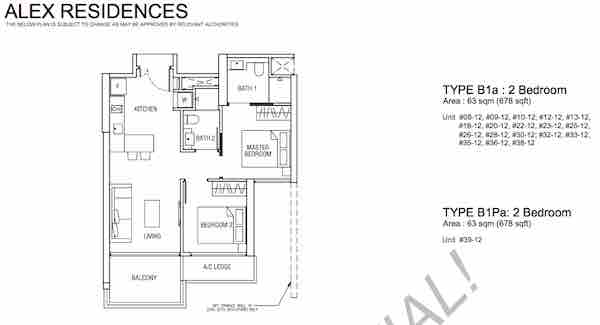 Alex Residences Showflat Hotline 61001778