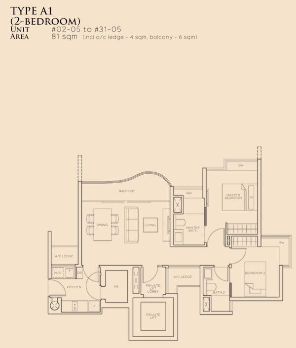 The Meyerise Floor plan