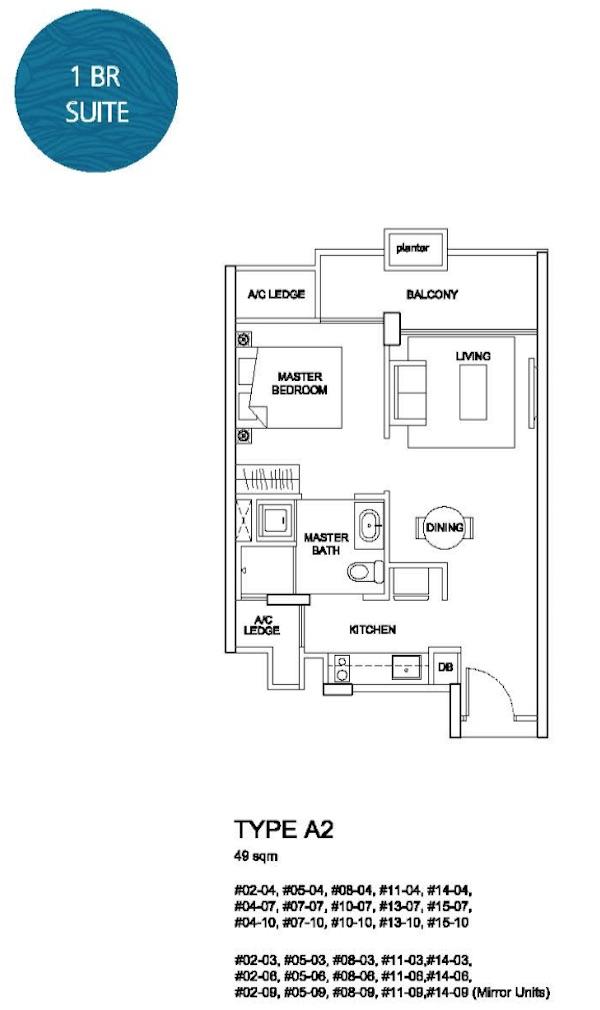 The Santorini Floor Plan