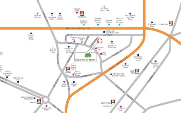 Neem Tree Location