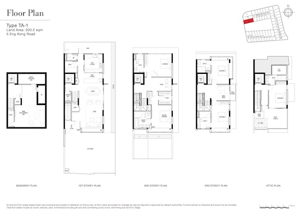 Kismis Residences Floor Plan