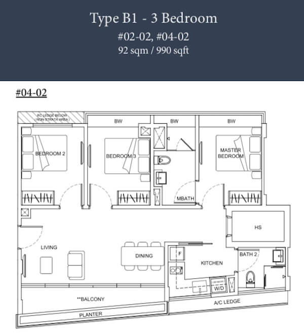 Parkwood Residences Floor Plan