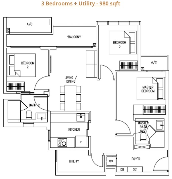 Bukit 828 Floor Plan