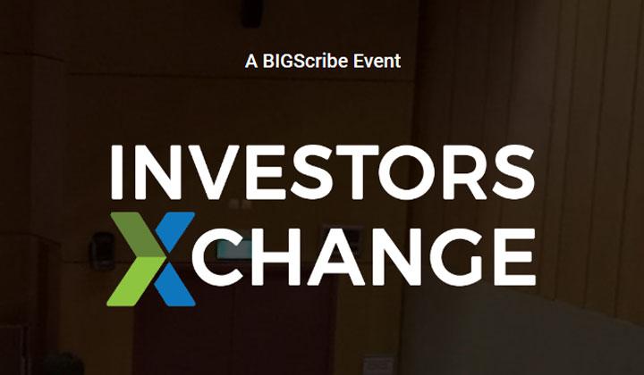 Speaking at Investors Exchange on July 29
