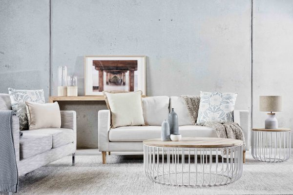 Jim's Interior Design Melbourne Property Styling Nordic Coast Living Room
