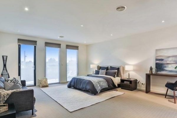 Jims Interior Design Home Staging Bentleigh Master Bedroom