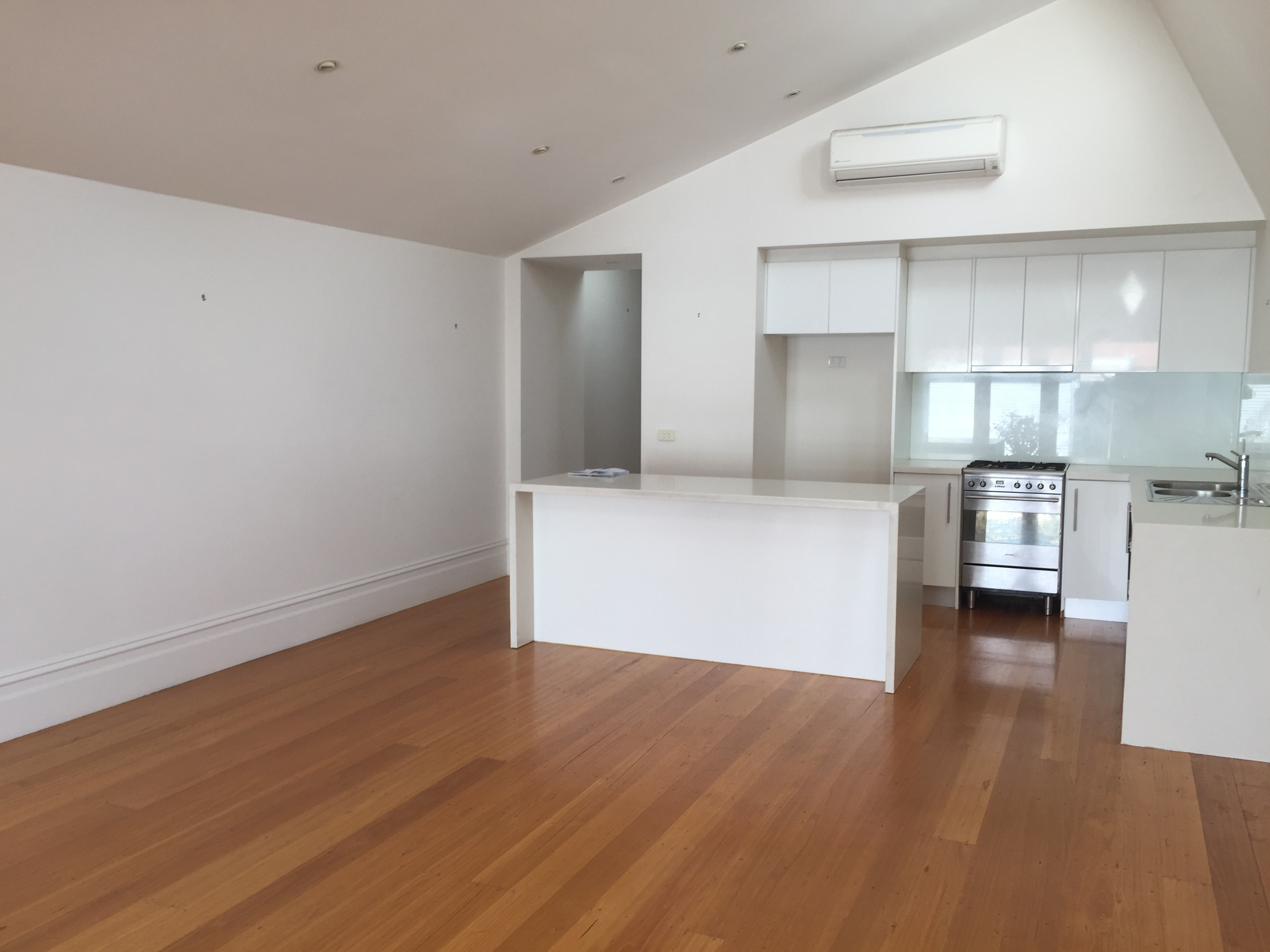Before Property Styling Northcote - Kitchen Living