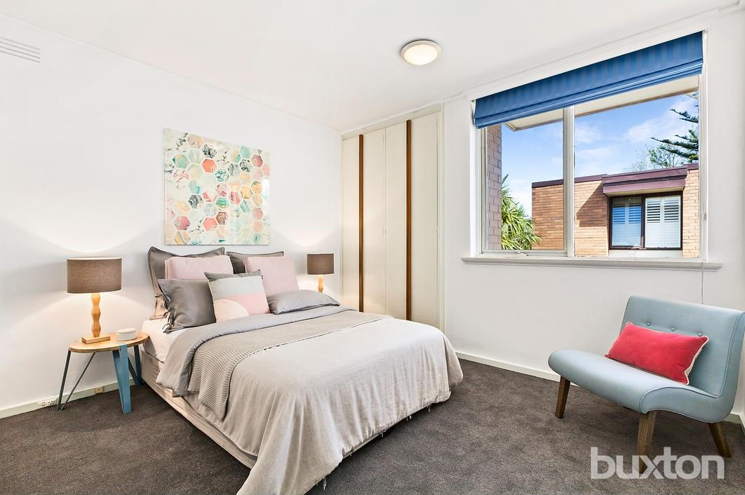 Property Styling St Kilda East Master Bedroom