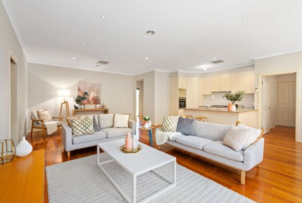 Property Styling Donvale Living Room