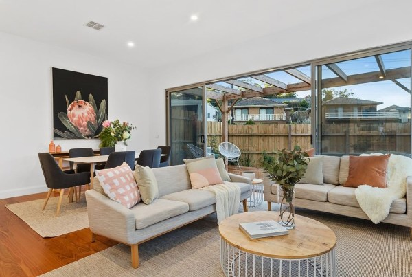 After Property Styling Keilor East Dining and Living