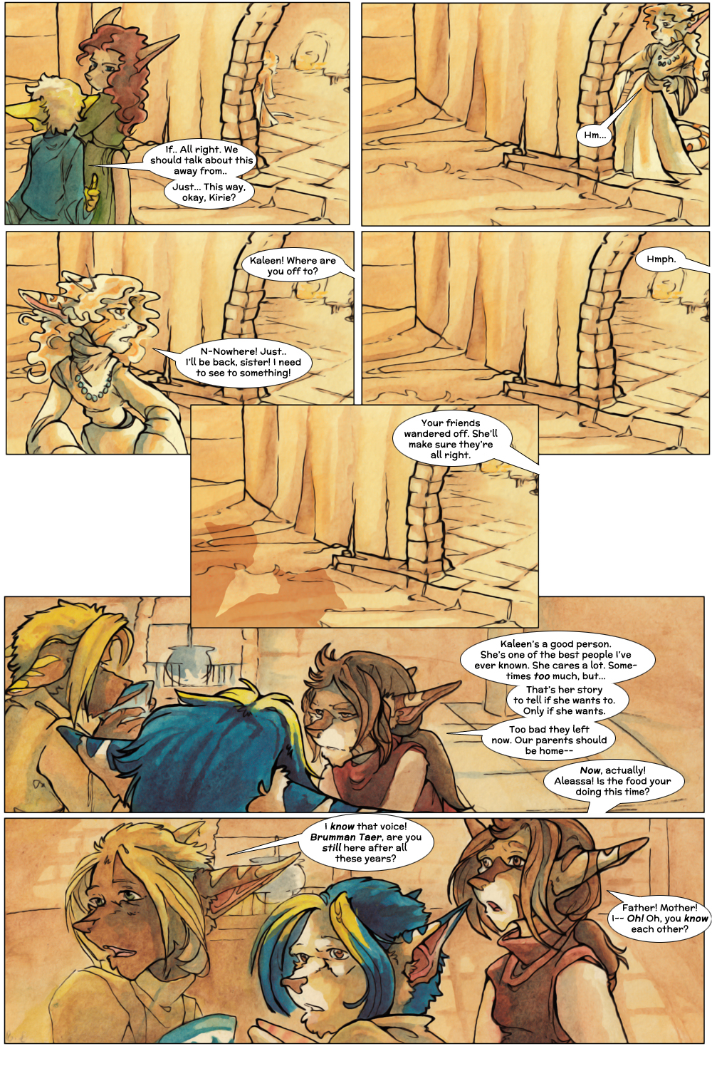 Chapter Three: Jahrd's Story: Page 8