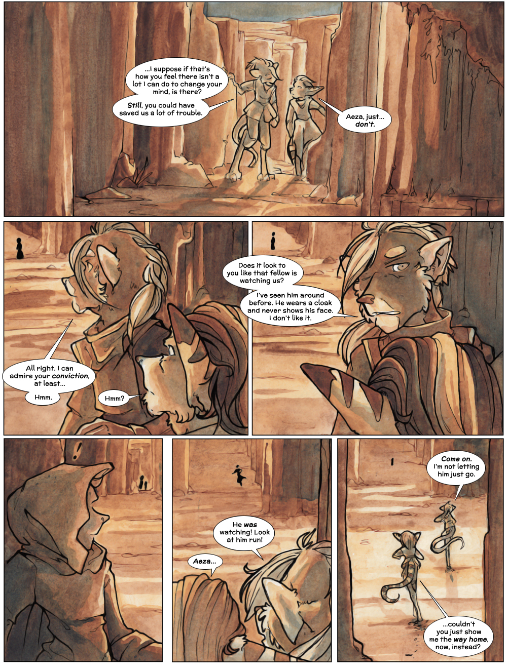 Chapter Three: Jahrd's Story: Page 46