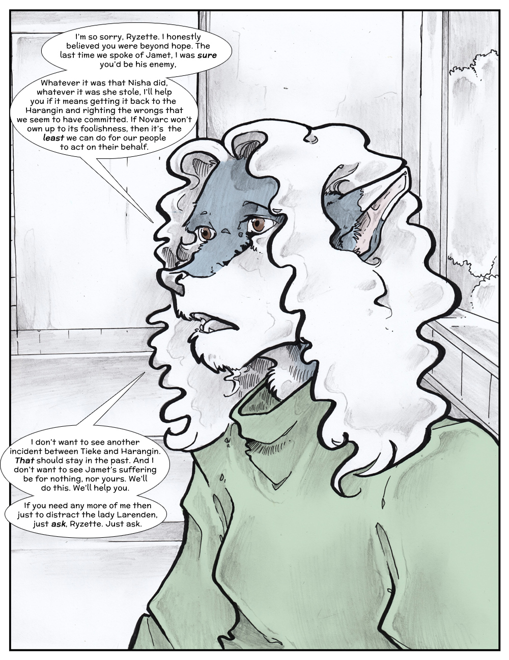 Chapter Three: Jamet's Story: Page 129