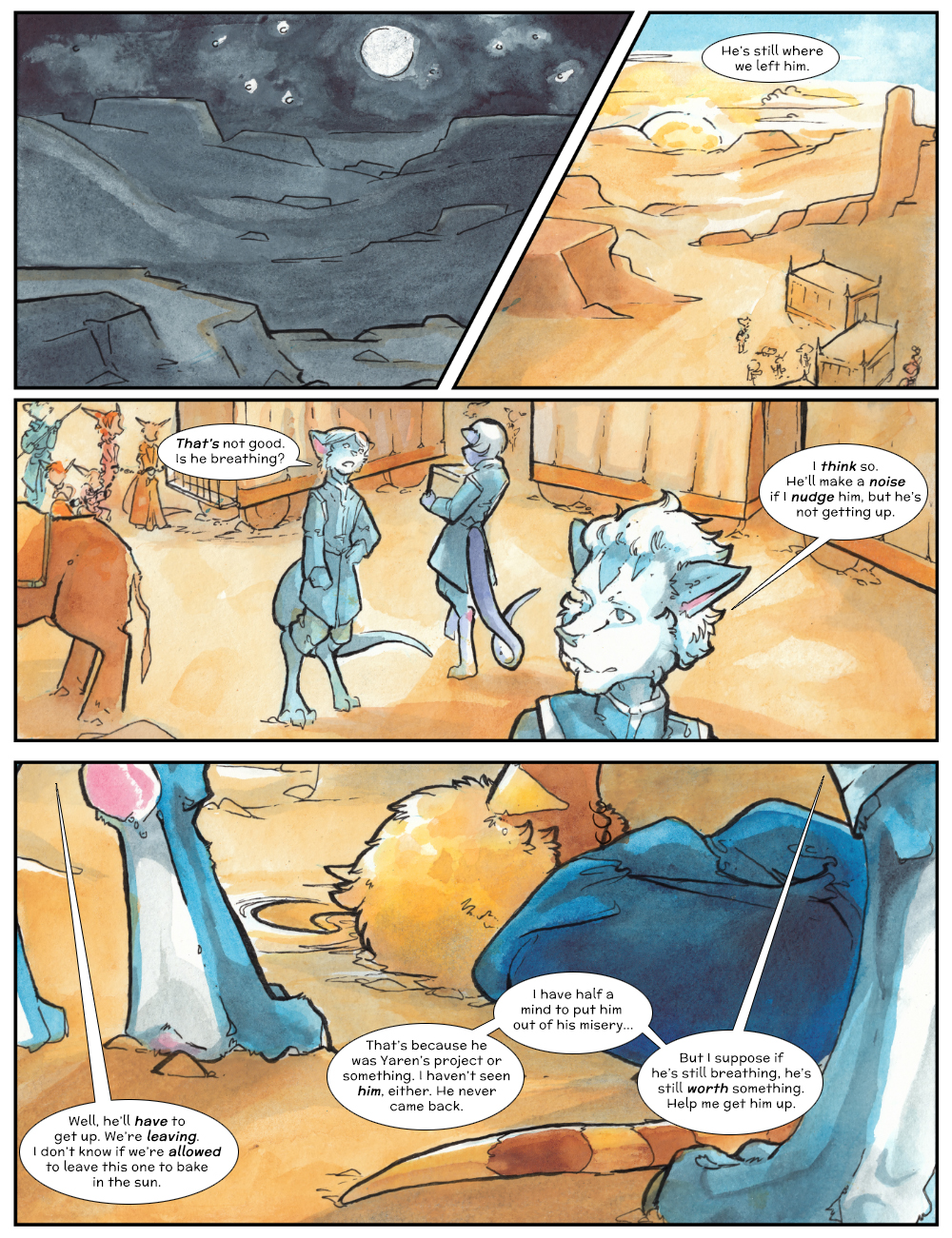 Chapter Three: Jahrd's Story: Page 242