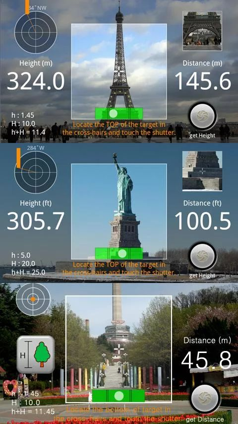 Measure Camera Android App