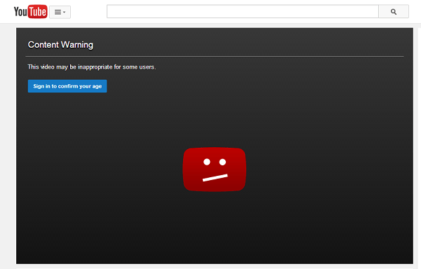 Bypass YouTube-age-restriction