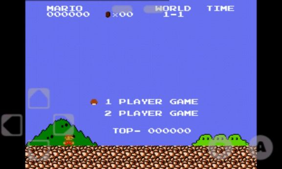 Running NES Game in Android Mobile