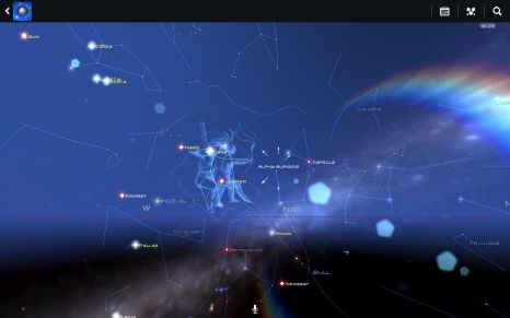 Star Chart Android App for See Space Walk