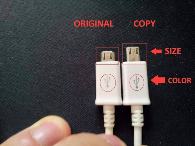 Difference Between Duplicate Original and Fake USB Mini USB Cables