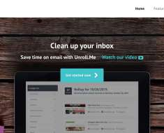 Unroll.me for Unsubscribing Annoying Emails
