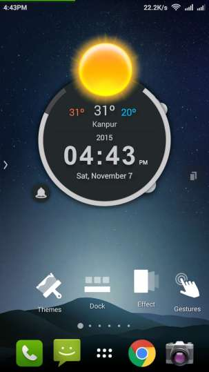 TSF Launcher 3D Weather Widget