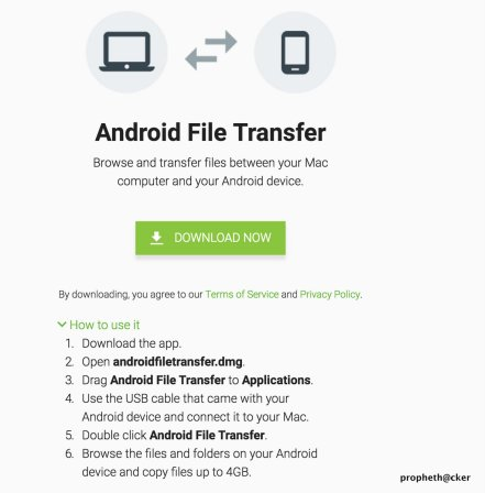 Android File Transfer for Mac