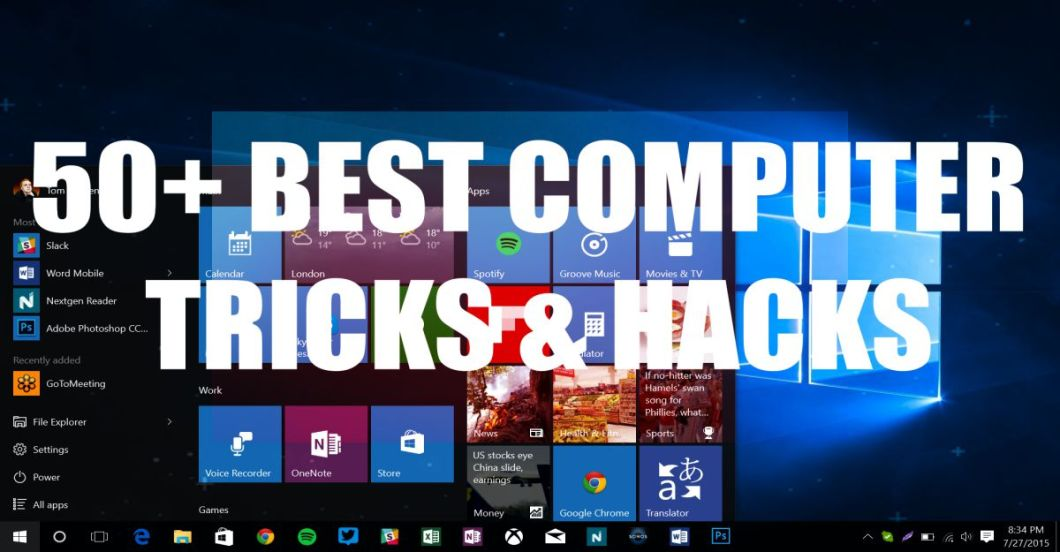 Best Window Computer Tricks and Hacks