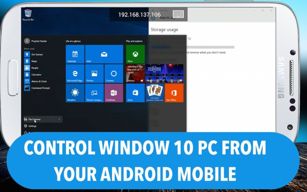 How to Control your Window 10 from your Android Mobile