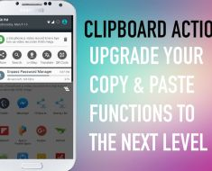 Clipboard Actions App can upgrade Copy & Paste functions to the next level